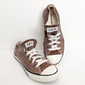 converse sneakers chocolate brown